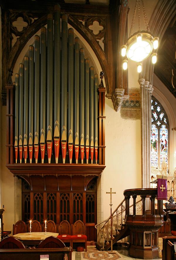 the Austin Organ